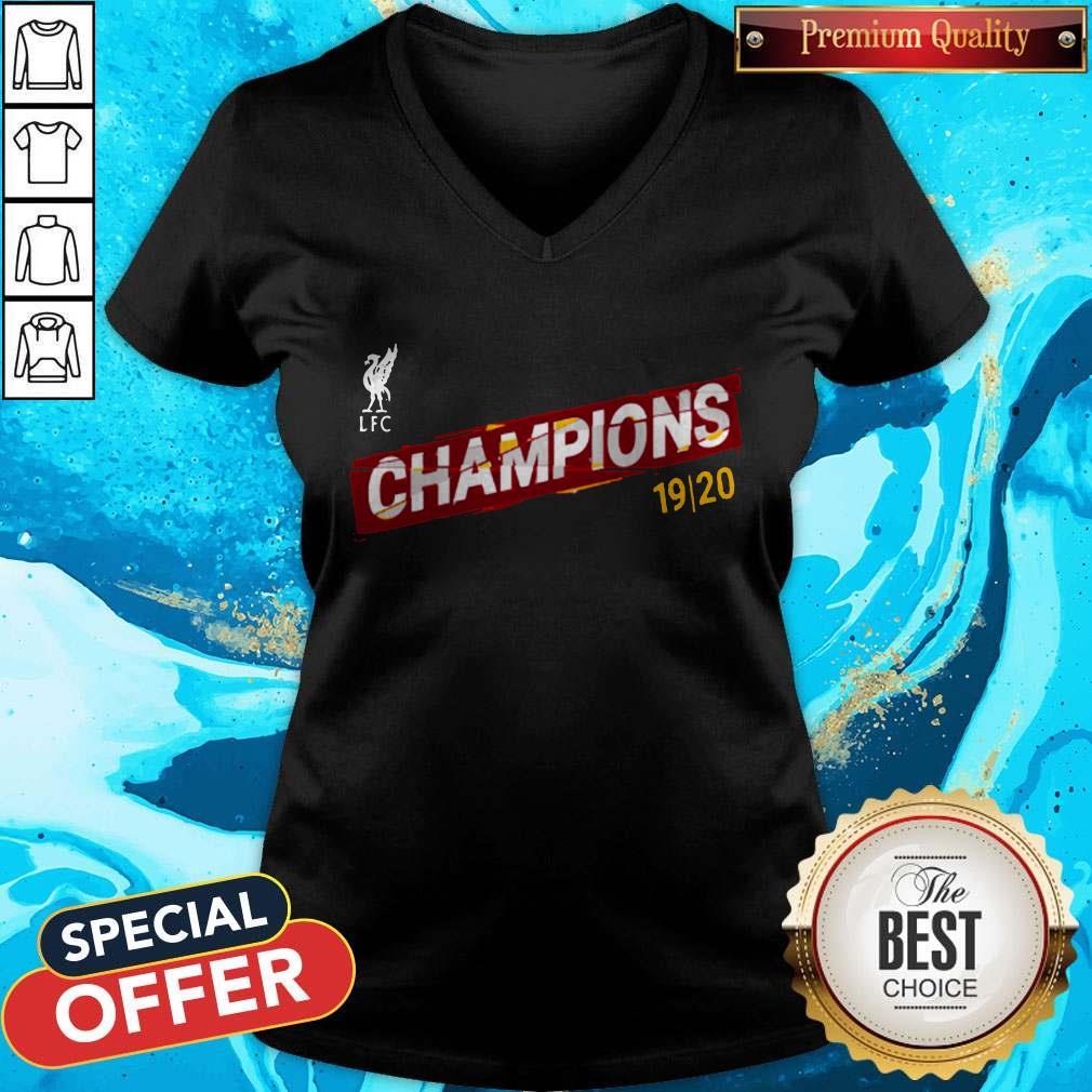 Liverpool FC Premier League Champions 19-20 V-neck