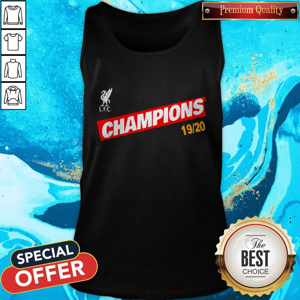 Liverpool You'll Never Walk Alone 2020 Tank Top