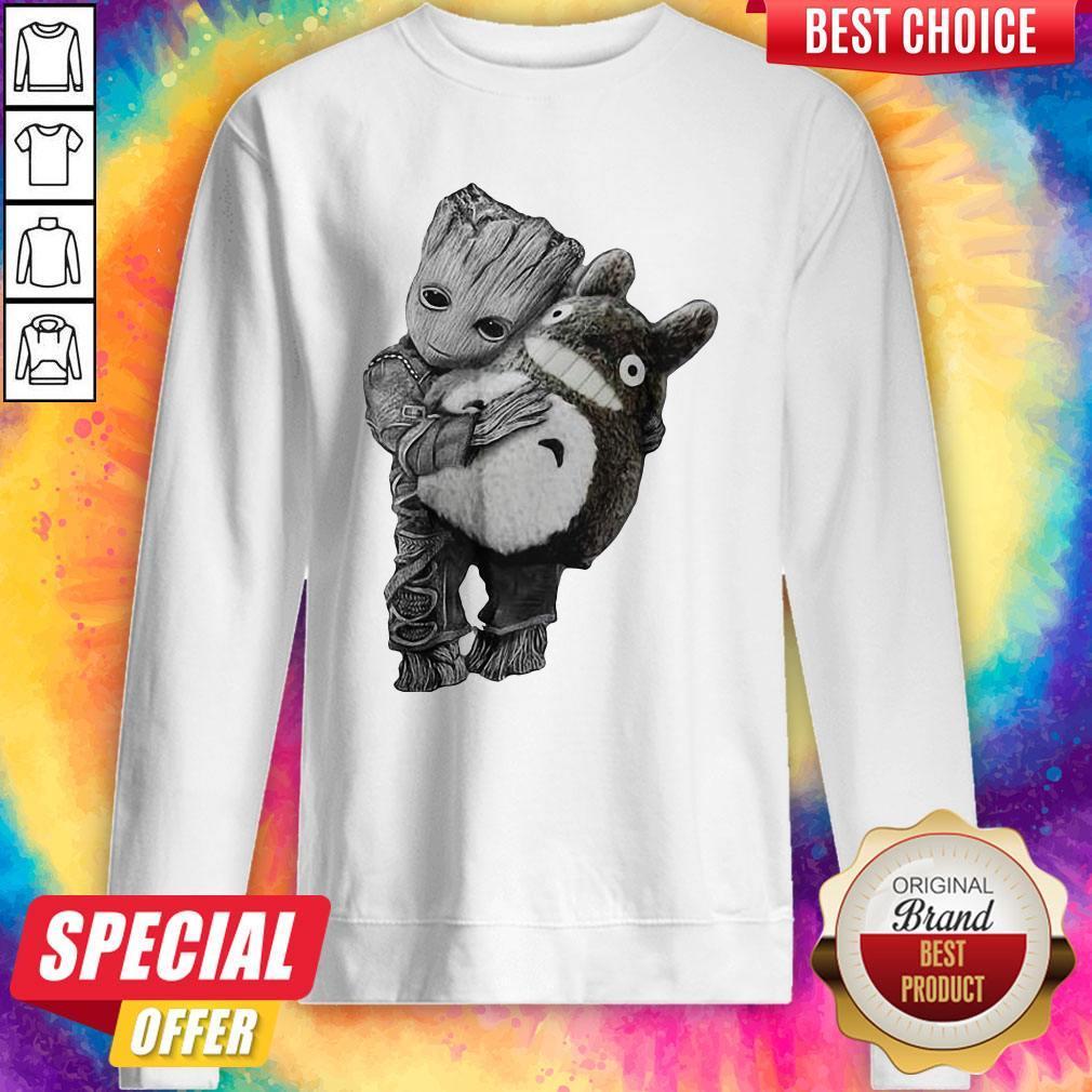 Official Baby Groot Hug Ghibli Sweatshirt