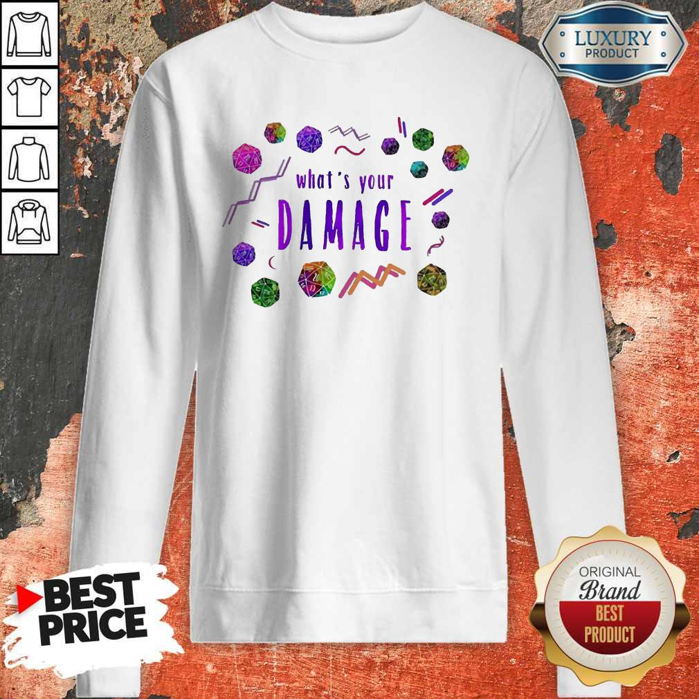 Official What's Your Damage Sweatshirt