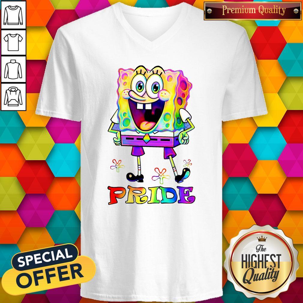 SpongeBob LGBT Pride 2020 V-neck