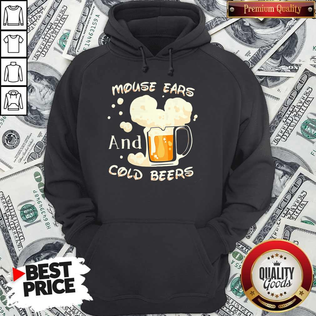 Mouse Cars And Cold Beers Kind Of Girl Hoodie