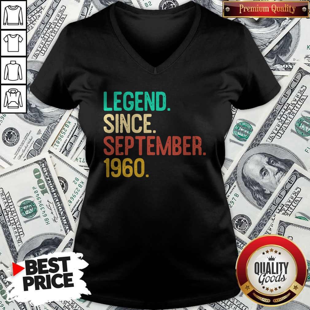 Nice Legend Since September 1960 V-neck