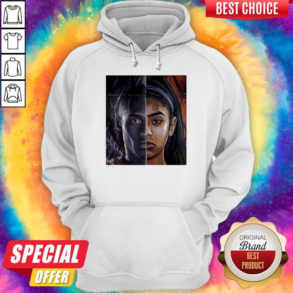 Official Kobe Bryant And Daughter Face Hoodie