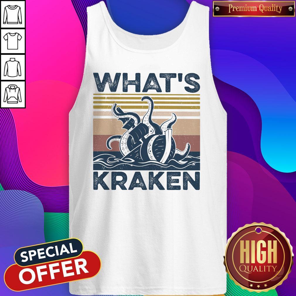 Official What's Kraken Vintage Tank Top