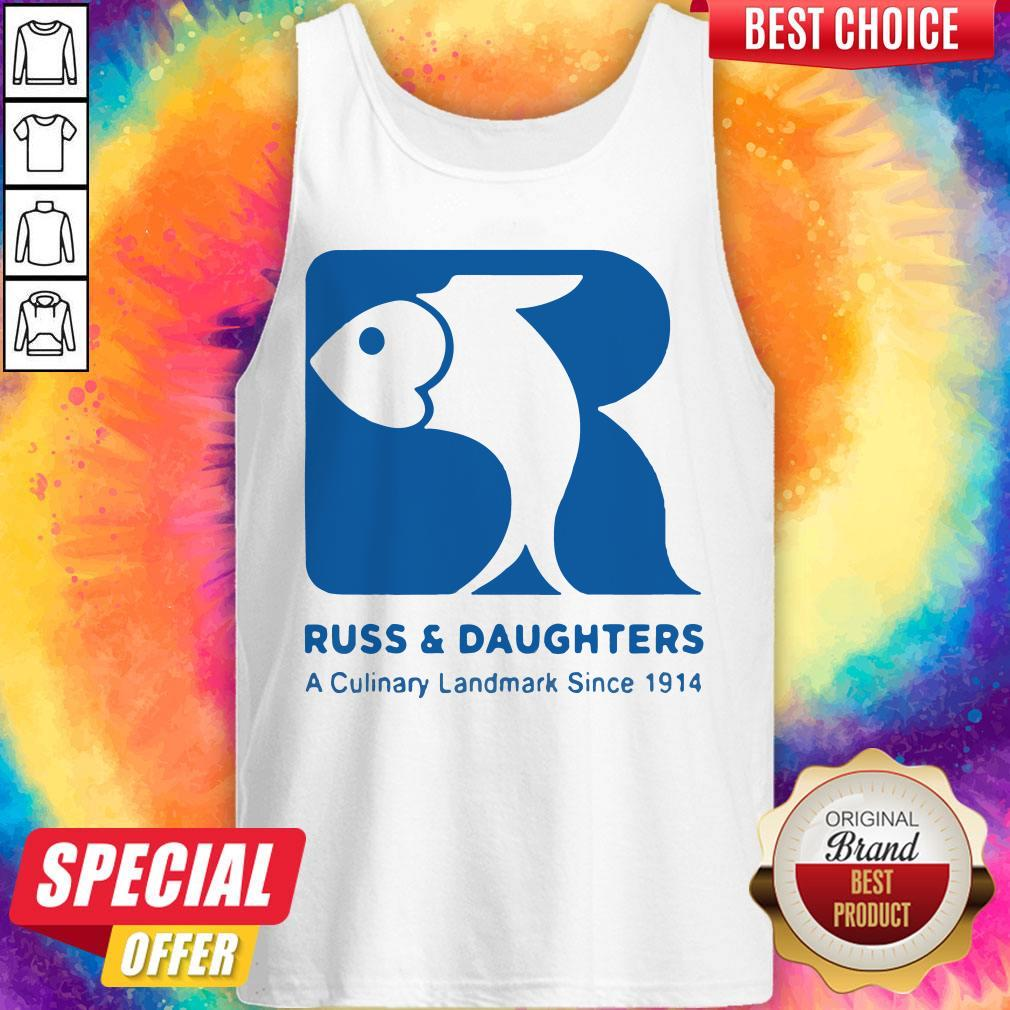 Russ And Daughters A Culinary Landmark Since 1914 Tank Top