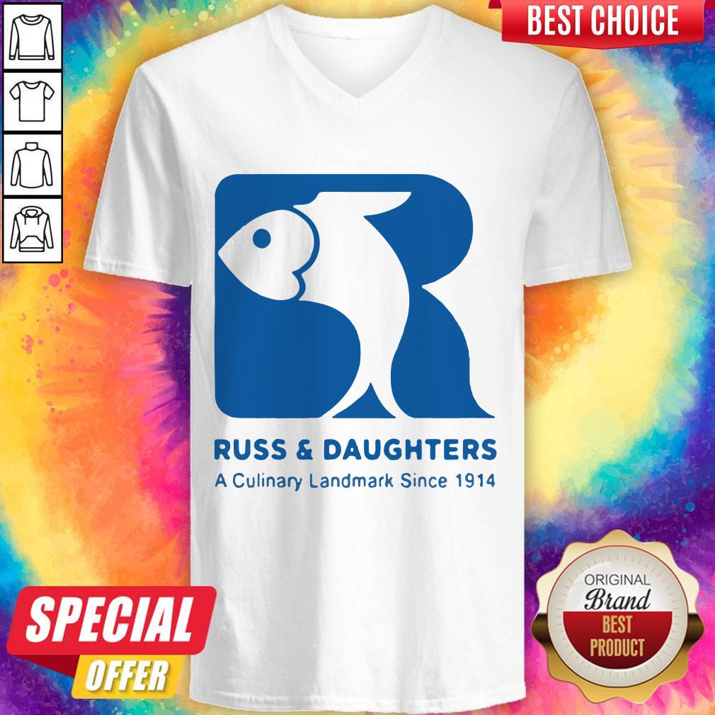 Russ And Daughters A Culinary Landmark Since 1914 V-neck