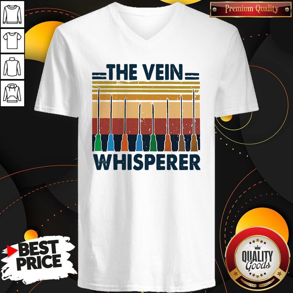 The Vein Whisperer Vintage V-neck