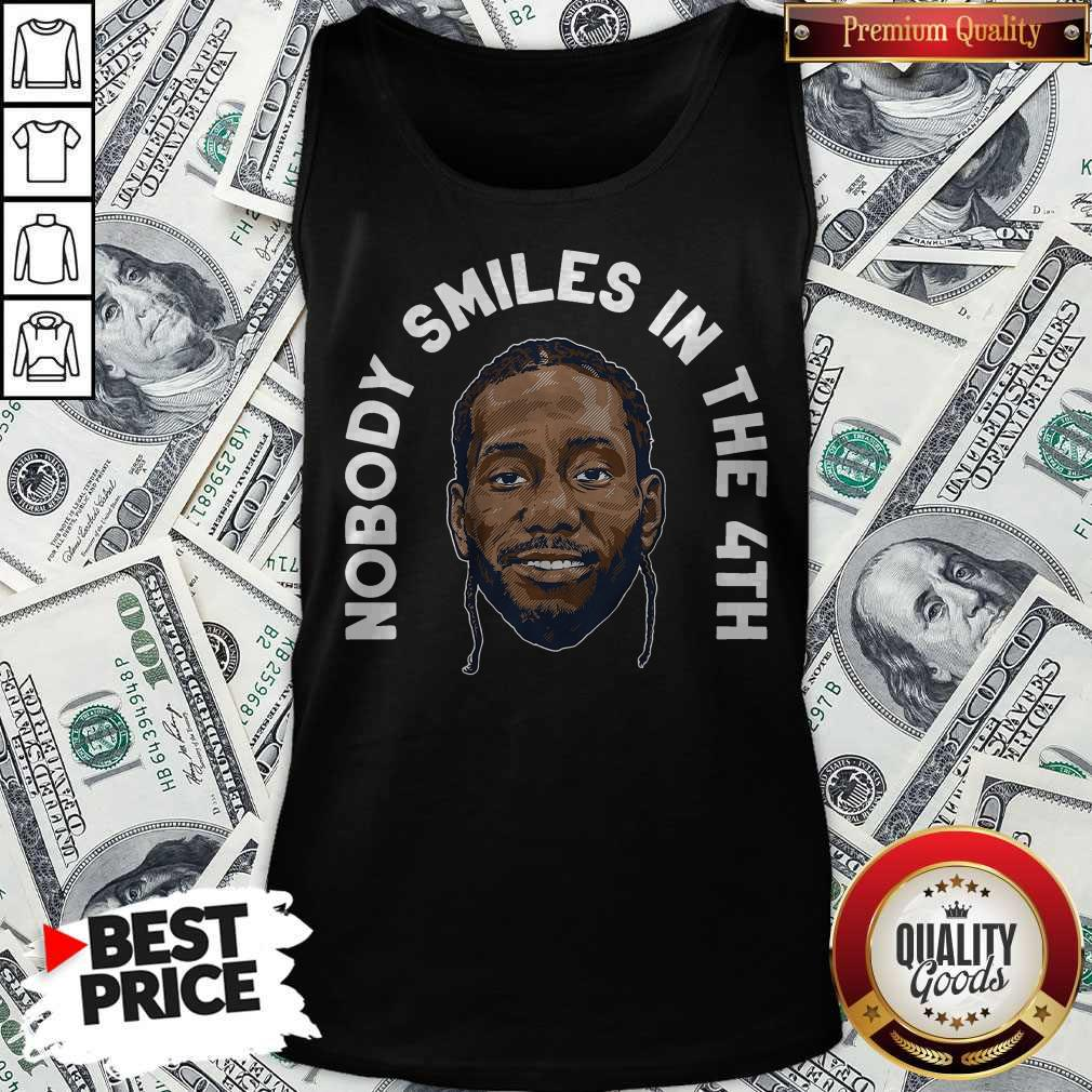 Zion Williamson Shirts Nobody Smiles In The 4th Tank Top