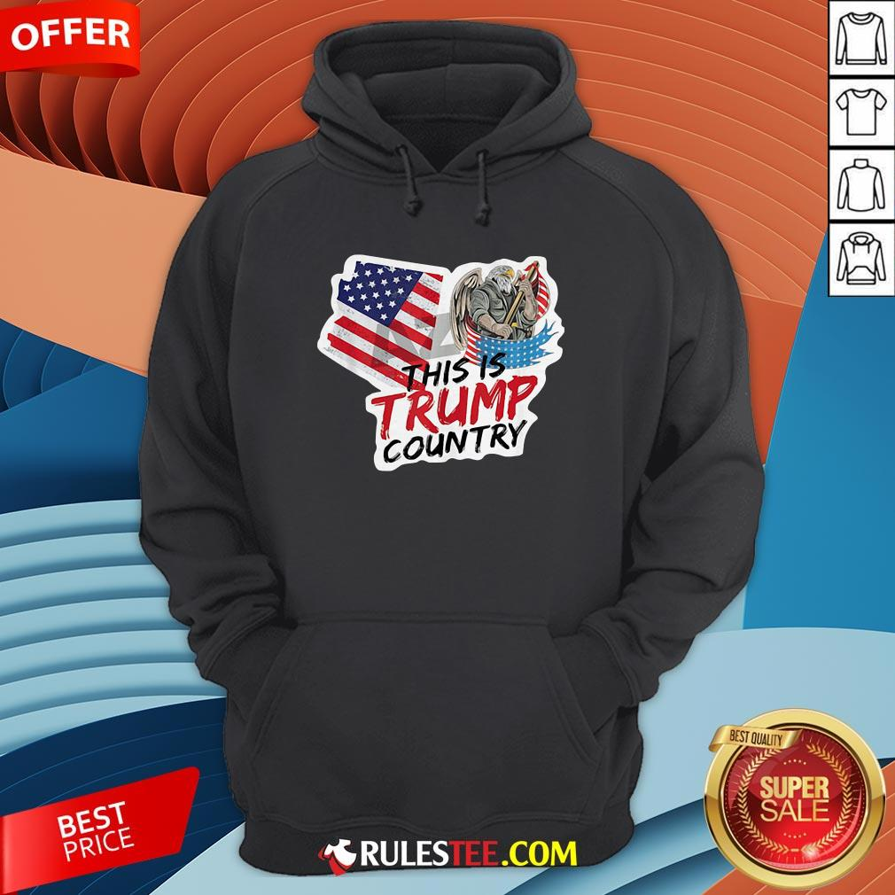This Is Trump Country Supporter Arizona Political America Flag Hoodie - Design By Rulestee.com