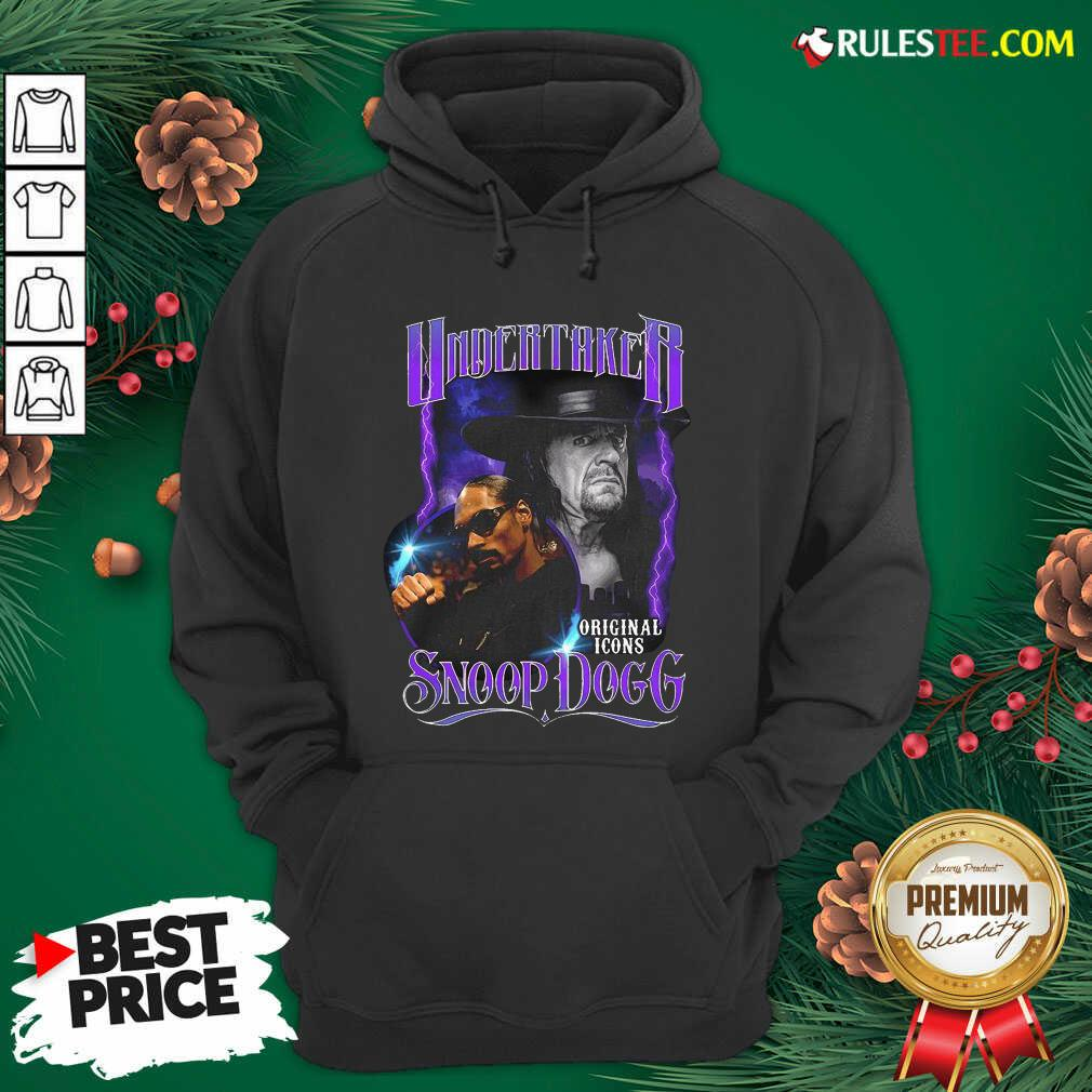 Awesome Undertaker Original Icons Snoop Dogg Hoodie - Design By Rulestee.com