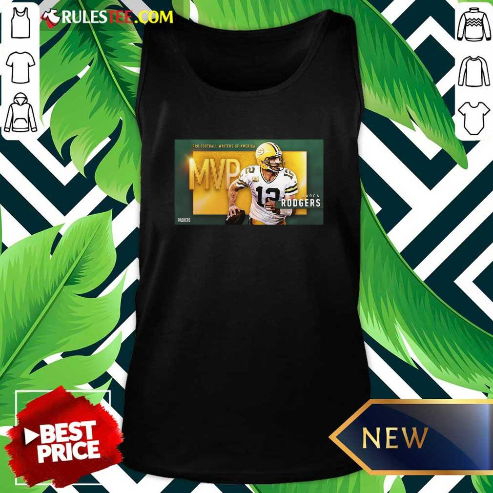 Aaron Rodgers Mvp Pro Football Writers Of America 2021 Tank Top - Design By Rulestee.com