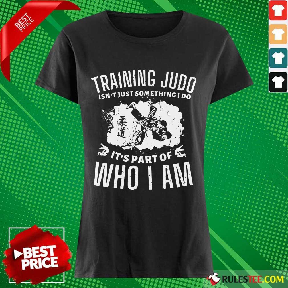 Training Judo Who I Am Ladies Tee