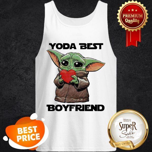 Baby Yoda Best Boyfriend Tank Top