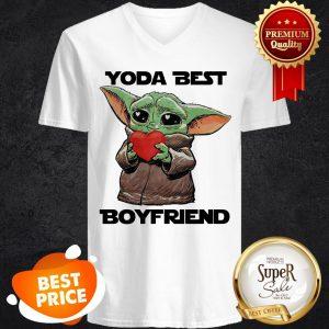 Baby Yoda Best Boyfriend V-neck