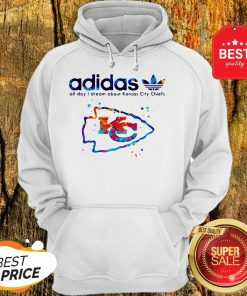 Adidas All Day I Dream About Kansas City Chiefs Champions Hoodie