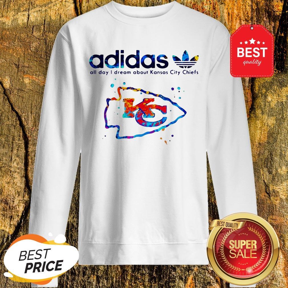 Adidas All Day I Dream About Kansas City Chiefs Champions Sweatshirt