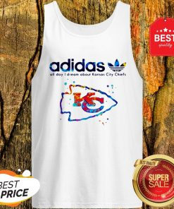 Adidas All Day I Dream About Kansas City Chiefs Champions Tank Top
