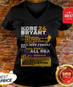 Kobe Bryant 24 8 5X NBA Champion 2X NBA Finals Most Valuable V-neck