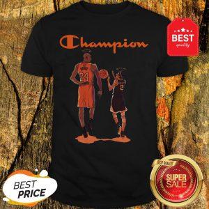 Nice Champion Kobe Bryant And Daughter Gianna Shirt