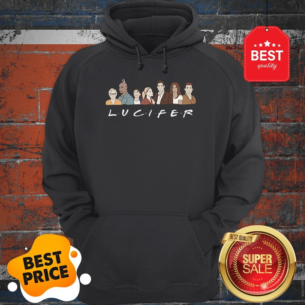 Official Friends Lucifer Characters Cartoon Hoodie