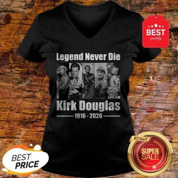 Official Legend Never Die Kirk Douglas 1916 2020 V-neck