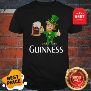 Official Leprechaun Drink Guinness Beer Shirt