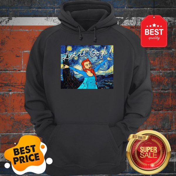 Official Let It Gogh Elsa Mashup Van Gogh Starry Night Hoodie