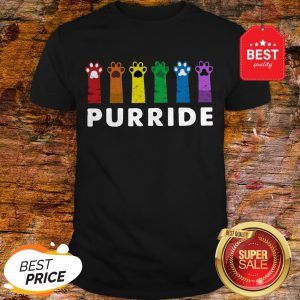 Official LGBT Cat Paws Purride Shirt