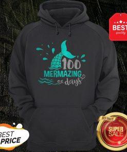 Official Mermaid 100 Mermazing Days Hoodie