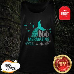 Official Mermaid 100 Mermazing Days Tank Top