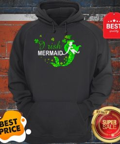 Official St Patrick's Day Irish Mermaid Hoodie