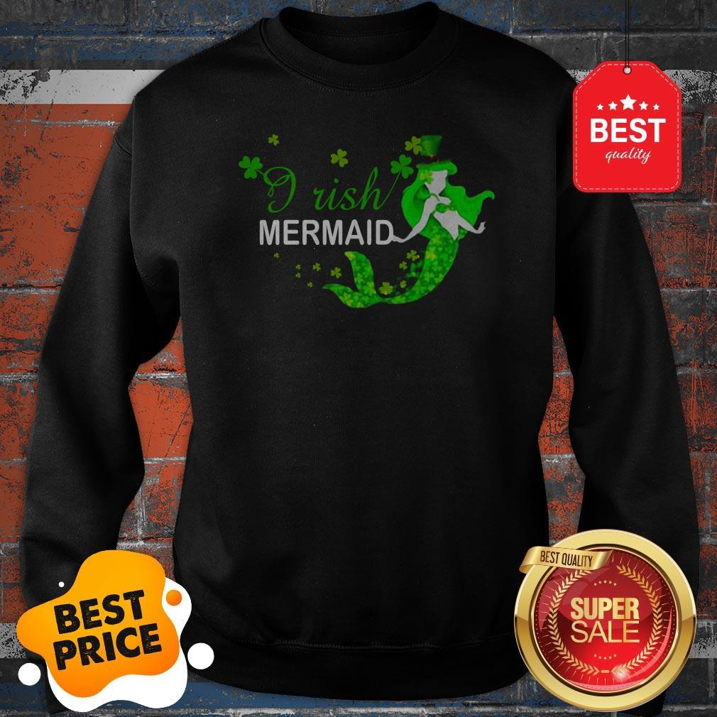 Official St Patrick's Day Irish Mermaid Sweatshirt