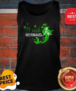 Official St Patrick's Day Irish Mermaid Tank Top