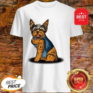 Official Yorkshire Terrier Tattoos I Love Mom Shirt