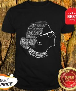 Pretty Be Independent RBG Silhouette Shirt
