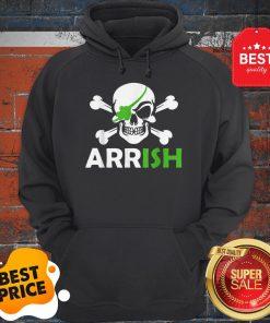 Pretty Irish Pirate Skull And Cross Bones St Patricks Day Hoodie