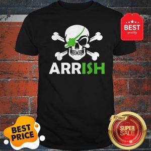 Pretty Irish Pirate Skull And Cross Bones St Patricks Day Shirt