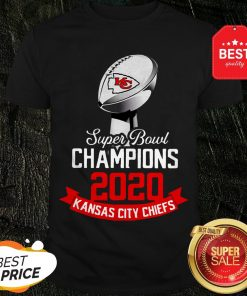 Super Bowl Champions 2020 Kansas City Chiefs Shirt