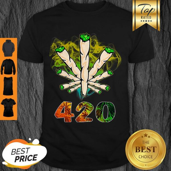Official Weed Cannabis 420 Weed Day Shirt