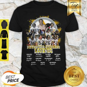 Pittsburgh Steelers Legends All Team Player Signatures Shirt