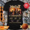 Judas Priest 51st Anniversary 1969-2020 Signatures Shirt