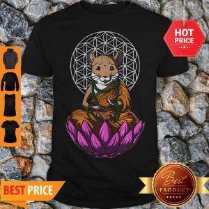 Official Hamster Mashup Buddha Shirt
