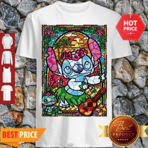 Stained Glass Style Dancing Stitch Shirt