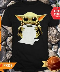 Official Baby Yoda Hug Toilet Paper Shirt