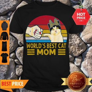 Vintage World's Best Cat Mom Shirt