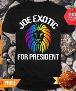 Official Joe Exotic For President 2020 Shirt