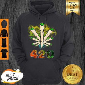 Official Weed Cannabis 420 Weed Day Hoodie