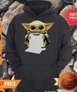 Official Baby Yoda Hug Toilet Paper Hoodie