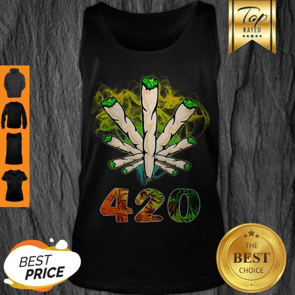 Official Weed Cannabis 420 Weed Day Tank Top